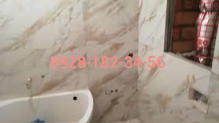 Керомагранита 600×1200 Ванная комната