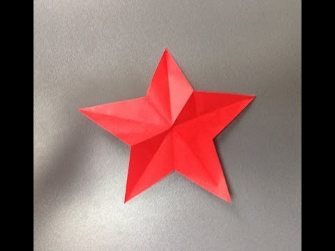 七夕 クリスマス 飾り 折り紙 切り紙 星 スター 折り方 作り方