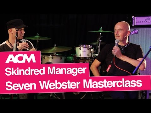Skindred Manager's Music Industry Masterclass at ACM