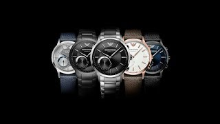 How to connect Emporio Armani Hybrid SmartWatch with Phone