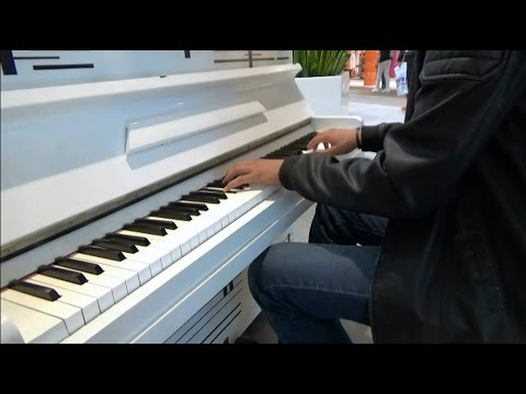Anime Piano Music Concert in Shopping Center   Katowice 21.09.2016