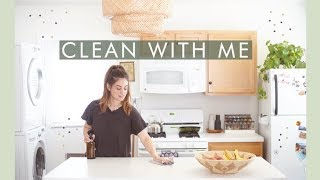Clean With Me! Zero Waste Cleaning Routine | Alli Cherry