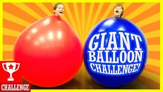GIANT BALLOON CHALLENGE BLOOD FARTS AND TEARS KITTIESMAMA
