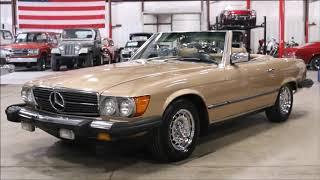 1981 Mercedes 380SL tan thumbnail