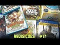 Últimas Compras #17 - Jogos de Wii U, PS4, PS2 e mais