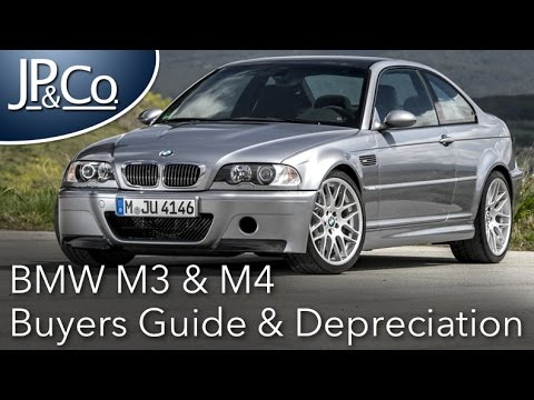 BMW M3  M4  Buyers Guide  Depreciation Analysis  YouTube