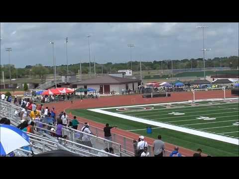 Xavier Carter 400m Run