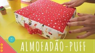 Aprenda a costurar um almofadão, puff, cama para pet