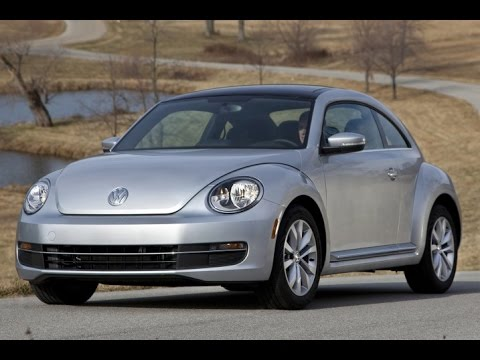 2015 Volkswagen Beetle Start Up and Review 1.8 L Turbo 4-Cylinder