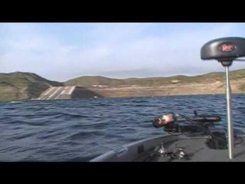 Diamond valley lake bass fishing 3 25 10 chargin 39 on for Diamond valley fishing report