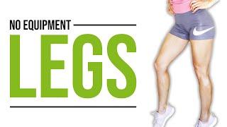 No Equipment Leg Toning Workout [Follow Along Home Workout] | LiveLeanTV
