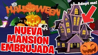 My NEW MANSION EMPULED for 🎃 HALLOWEEN 2019 🎃 in Adopt Me Roblox!