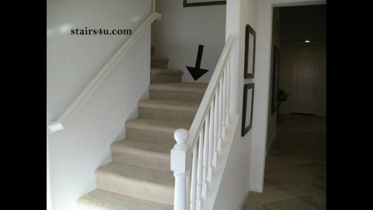 What Is A Stair Landing?   Stairway Construction Parts