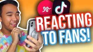 REACTING TO MY VIEWERS TIK TOKS! *NEW*
