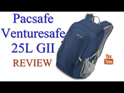 pacsafe-venturesafe-25l-gii-(-backpack/daypack/rucksack)-review
