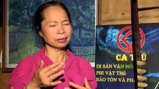 YouTube Bach Van ca tru - Movies about me - Le Thi Bach Van - People wade history - Art of ca tru.