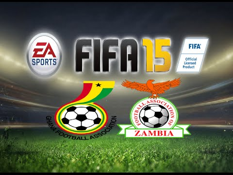 FIFA 15 Gameplay Ghana vs Zambia