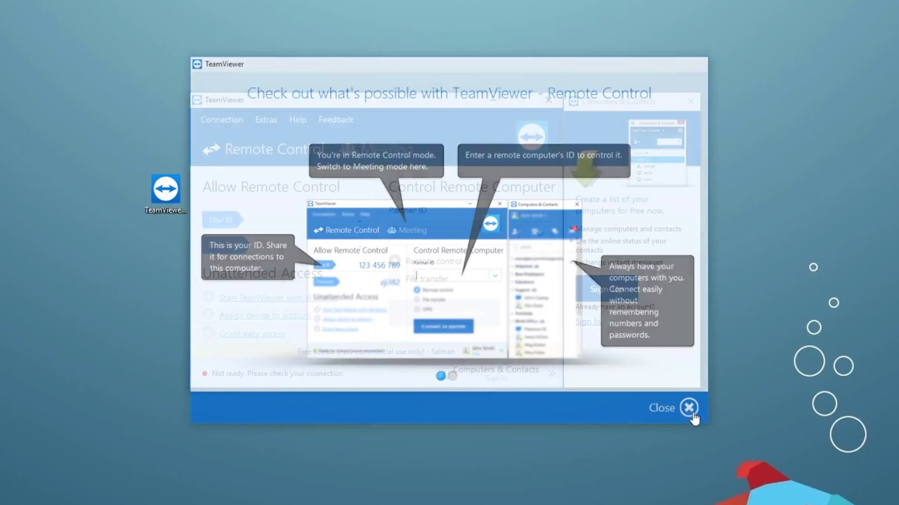 How to use TeamViewer | TeamViewer Download Installation Configuration