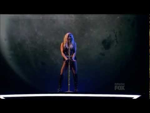 Ke$ha - C'mon Live @ The X Factor Results Show (HD 1080p)