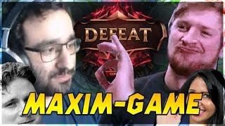 TYPICAL MAXIM GAME! | ULTIMATE BRAVERY GAME ABER RIOT TROLLT?! Stream Highlights [League of Legends]