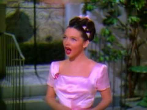 """Kathryn Grayson in 'Waltz Serenade'  (from """"Anchors Aweigh"""" - 1945)"""