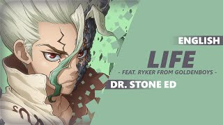 """""""LIFE"""" anime cover, the ending theme from """"Dr. Stone"""". Get this son..."""
