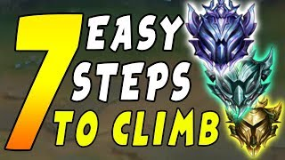 7 Steps to Climb FAST In NEW Season 9 Ranked Solo Queue Ladder - League of Legends