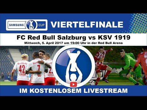 FC RB Salzburg vs KSV 1919 (Cup Viertelfinale 2016/2017)