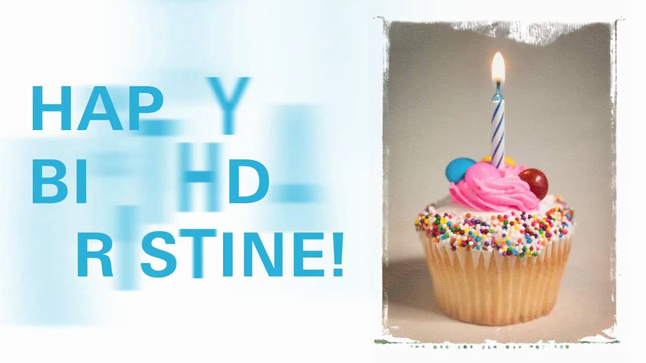 Happy Birthday Kristine Youtube