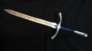 Make Gandalf's Sword Glamdring From Lord Of The Rings