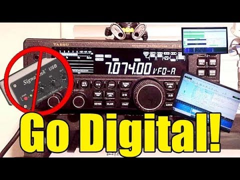 yaesu ft 450d digital modes without a signalink or scu 17 usb interface