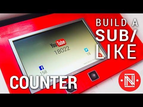 Make A Facebook/Social Media Follower Tracker || DIY