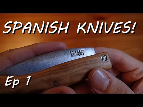 Spanish Knives Ep 1 - Pallares Carbon Steel