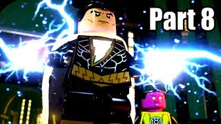 LEGO DC SUPER-VILLAINS [PS4 PRO] Gameplay Walkthrough Part 8 | No Commentary