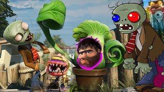 Recep İvedik ve Örümcek Çocuk Zombilerin Saldırısına Uğradı Bitkilerle Savunuyor Plants vs Zombies 2