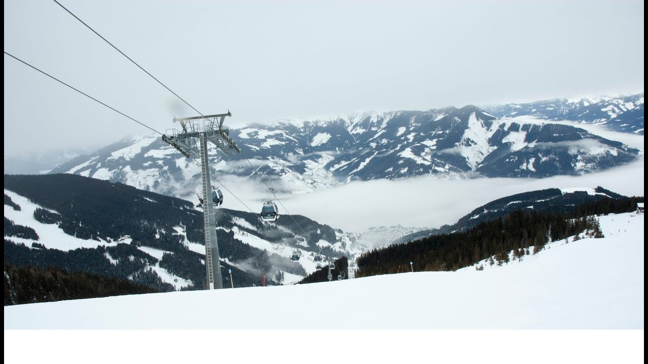 Zell am See ski panorama Kaprun Цель ам зее Капрун горнолыжные курорты Zell am see Kaprun Austria Ав
