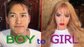 МАКИЯЖ ДЛЯ НАСТОЯЩИХ МУЖЧИНboy To Girl