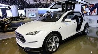Tesla Model X - Salon de Genève 2013