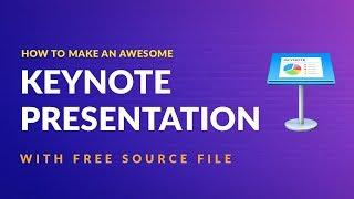 How to Make Keynote Animated Presentation 2018