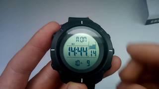 Skmei watch 1215 review Годинник Skmei 1215 з крокоміром, огляд, налаштування, інструкція російською, ціна