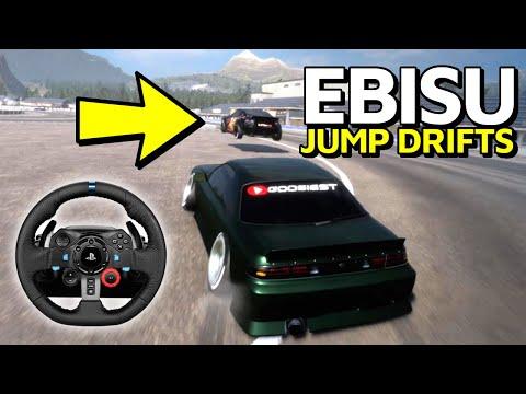 Ebisu Jump Drifts In CarX Drift Racing Online