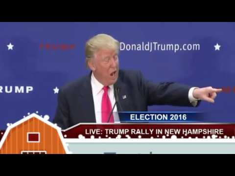 Full Speech: Donald Trump Rally in Portsmouth, NH- Great Bay Community College 02/04/2016