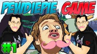 PewDiePie: LEGEND OF THE BROFIST Part 1 ★ MARKIPLIER SAVE ME ★ PewDiePie Android Gameplay