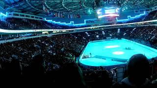 Victory Ceremony 2019 ISU European Skating Championship Ladies Samodurova Zagitova Lindfors