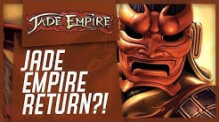 JADE EMPIRE IS RETURNING?! Trademark Application DISCOVERED! Is It A Remake Or Jade Empire 2?