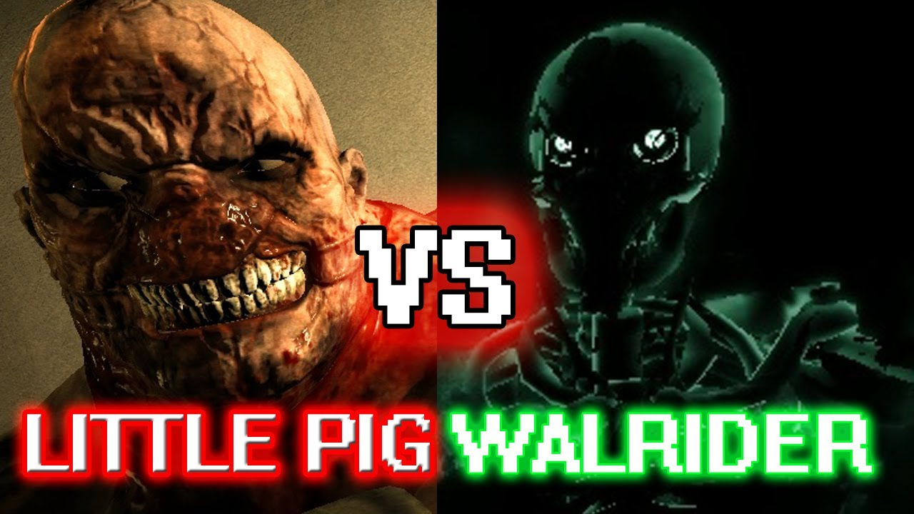 Outlast: LITTLE PIG VS. WALRIDER!!! - Part 21 [Horror ... Little Piggy Outlast