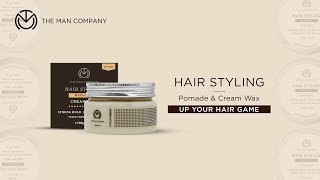 Hair Styling Wax for Men – Machismo | The Man Company