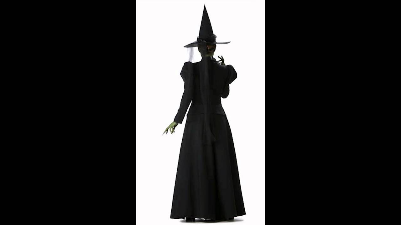 & Scary Witch Costume - YouTube