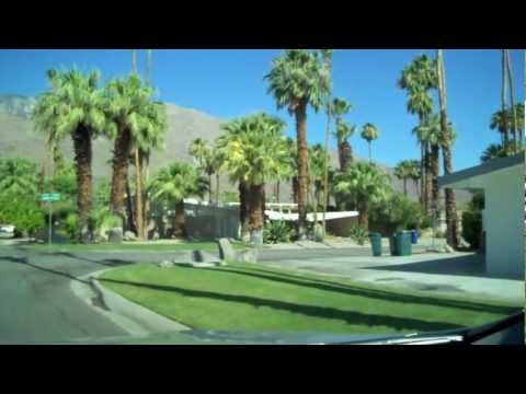 Twin Palms Tour - Mid-Century Homes in Palm Springs, CA