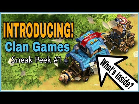 CLAN GAMES ARE ON THE WAY! What More? Christmas Update SNEAK PEEK #1 | CLASH OF CLANS HINDI